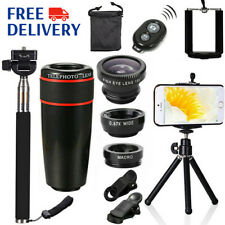 All in1 Accessories Phone Camera Lens Top Travel Kit For Smartphones Cell Phones