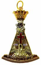 REGALIA MASONIC ROSE CROIX 18th DEGREE PENDENT JEWEL~*
