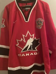 Team Canada World Juniors Nike XXL Jersey