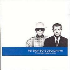Pet Shop Boys Discography The Complete Singles Collection 1991 Parlophone CD