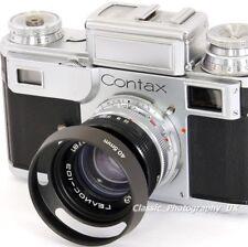 ZEISS Sonnar 1:1 .5 f = 5 cm & BIOTAR 1:2 f = 5.8 cm Fit E40.5 Ventilé Lens Hood 40.5 mm