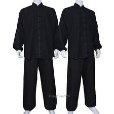 Soft Cotton Blends Tai chi Uniform Kung fu Martial arts Wing Chun Suit 4 Colors