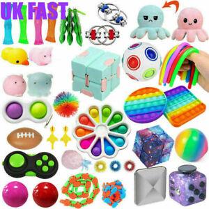 49 Pack Fidget Toys Set Sensory Tools Bundle Stress Relief Hand Kids Adults Toy