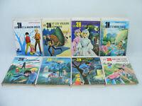Lot de 8 livres LES 3 N (Trois N) Roberte ARMAND Bibliotheque rose 60's/70's 3N