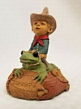 2002 Tom Clark Gnome Cassidy New in Box Hopalong Frog