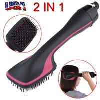 2 in 1 Multifunctional  Anion Hair Dryer Brush Comb Styler Hairdressing Tool