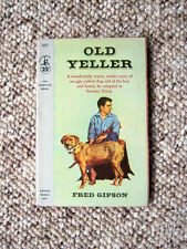 Collectible Paperback - Old Yeller - Fred Gipson - 1st Edition - Great Condition