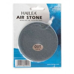 Hailea Porous Air Stone Flat Round Oxygenated Hydroponics Systems 100mm/150mm