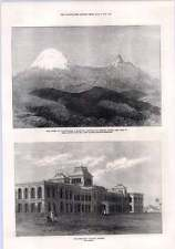 1872 Presidency College Madras Summit Of Kilimanjaro