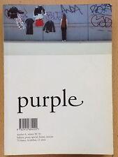 Purple Fashion 6 winter 2000 2001,Cris Moor Giasco Bertoli Olivier Zahm
