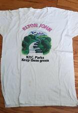 ELTON JOHN Central Park CONCERT 9/13/80 WNEW for NYC Parks