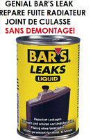 PROMO BAR'S LEAK REPARE FUITE RADIATEUR JOINT DE CULASSE SANS DEMONTAGE! GENIAL!