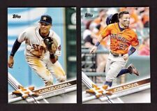 2017 World Series Champions HOUSTON ASTROS Team Set Topps 1 & 2 Updates