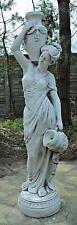 Wasserträgerin (A217) Wasserspiel Frau Gartenfigur Statue Steinguss 132cm