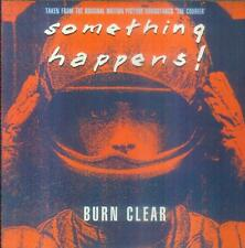"""7"""" Something Happens/Burn Clear (UK) The Courier"""