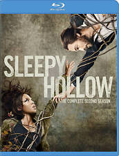 Sleepy Hollow Season 2 Blu-ray, Mint Condition Fast Free Shipping Two Second 2nd