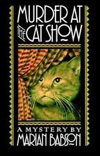 NEW - Murder at the Cat Show by Babson, Marian