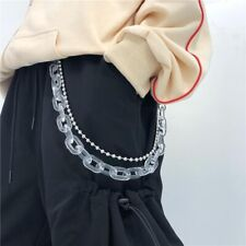 Fashion Jewelry Bodychains Solid Color Lobster clasp Waist Chains Hip Pop Chains