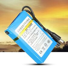 DC 12V 4000mAh Rechargeable Portable Li-ion Battery For CCTV Camera