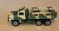 Vintage Maisto Camouflage Military Truck Car Vehicle M 323 A1 Collectible Rare