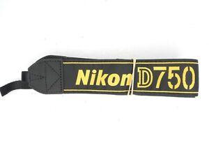 Nikon D750 Genuine DSLR Camera Neck Strap / AN-DC14
