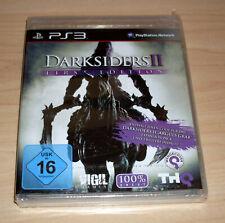 Playstation 3 PS3 Spiel - Darksiders II 2 - First Edition - Deutsch - Neu OVP