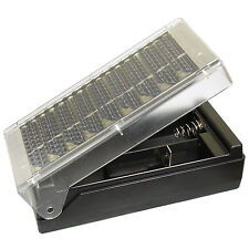 Universal Solar Battery Charger for AA C D Ni-Cd or Ni-MH Rechargeable Batteries