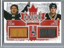 Elvis Stojho-Mario Lemieux 10/11 In The Game Canadiana Game Used Jersey