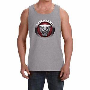 JAGUAR NEW Men's Tank Top Vest - Sleeveless t-shirt  print by EPSON