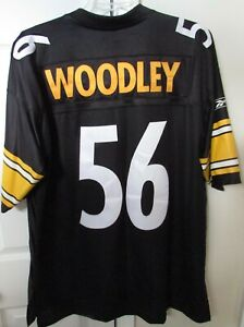 NFL Pittsburgh Steelers #56 LaMarr Woodley Jersey XL (Length +2) by Reebok