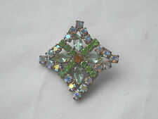 Czech Glass Rhinestones Button, Dazzle & Bling! Item 232