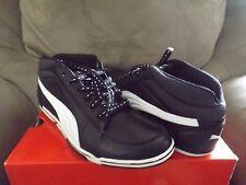 Puma 65cc Black White White Men's Athletic Shoes Size 7.5 New With Box 303519 01
