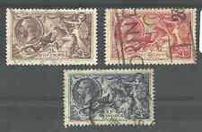 Sg450-52 la 1934 Gv re-engraved caballitos de mar Set Gato € 190
