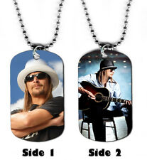 DOG TAG NECKLACE -  Kid Rock #SN2 Rap Pop Singer jewelry bead chain