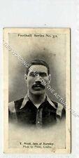 (Ga7536-437) Wills, Football Series, #32 T.Nicol, Burnley 1902 G-VG
