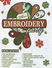Anita Goodesign-EMBROIDERY PARTY CD & BOOK 15 PROJECTS CD and BOOK 002