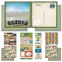 Soccer Life Scrapbook Customs Themed Paper Scrapbook Kit