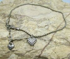 Ankle Bracelet Preloved Brighton Crystal Heart Anklet