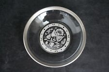 Vintage Georges Briard Silver Overlay Botanical Motif Bowl