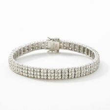Touchstone Crystal by Swarovski Be Seen Bracelet Sterling Silver Lbd Collection