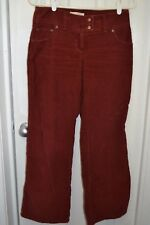 "Womens LONDON JEAN Chino Stretch The Marisa Fit, 4 short(29""), Solid Rust, GUC"