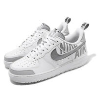 Nike Air Force 1 07 LV8 2 AF1 Under Construction White Grey Men Shoes BQ4421-100