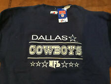 NFL Dallas Cowboys Heavyweight Embroiled SWEATSHIRT Medium Oversized VINTAGE