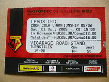 W Football League Fixture Tickets & Stubs (2004-Now)