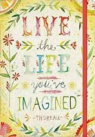 Studio Oh! Compact Deconstructed Journal, Live the Life by Studio Oh!