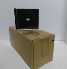 25 Jewel Cases 1cd Dvd Case Black Insert Logo Compact Disc Digital Audio