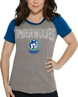Touch by Alyssa Milano NBA Minnesota Timberwolves Conference Tee Plus Heather Grey 4X