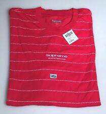 5d956ceb8f Supreme Long Sleeve Logo Stripe LS Top T Shirt Red Size XL Extra Large FW17