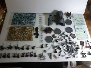 Warhammer gros lot figurines plus décor plus rabiot