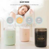 280ML Ultrasonic Air Humidifier Candle Soft Light USB Essential Oil